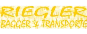 Riegler - Bagger & Transport